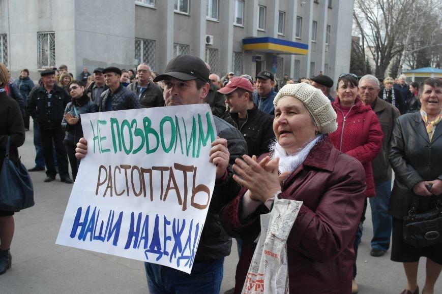 """""""Требушкин - мэр от Бога"""": под таким лозунгом прошел митинг в Покровске, фото-23"""