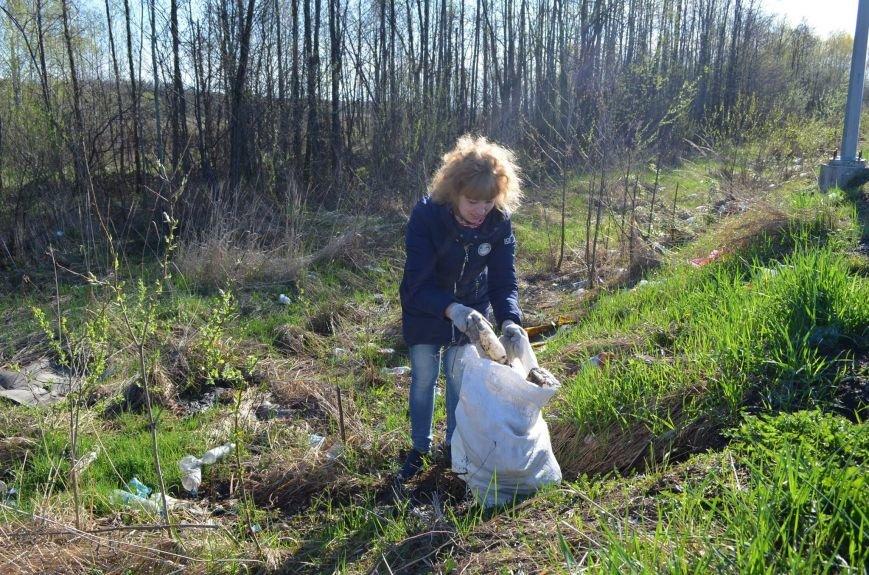 Новоград-Волинський район долучився до акції «За чисте довкілля», фото-1