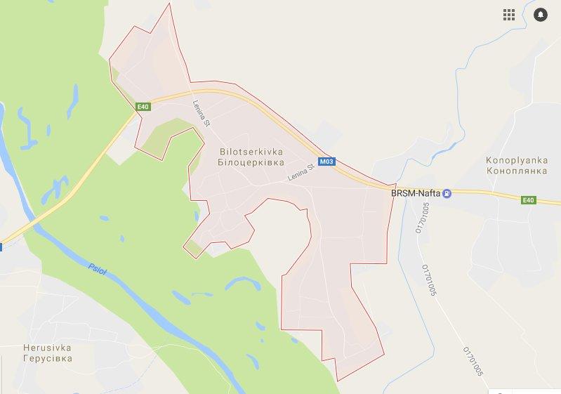 М-03 Білоцерківка