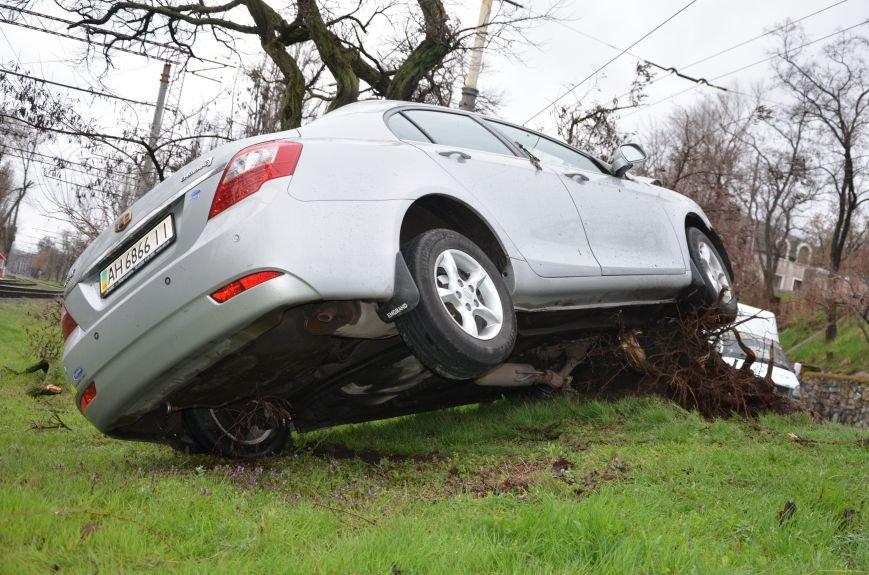 """В Мариуполе автомобиль """"Джили"""" снес дерево (ФОТО+ВИДЕО), фото-11"""