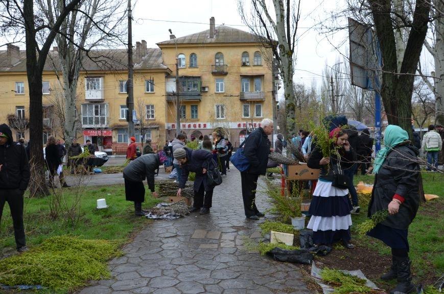 Мариупольцы празднуют Вербное воскресенье (ФОТО+ВИДЕО), фото-25