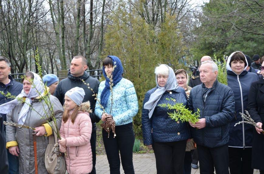 Мариупольцы празднуют Вербное воскресенье (ФОТО+ВИДЕО), фото-8
