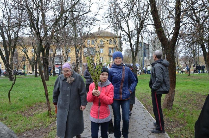 Мариупольцы празднуют Вербное воскресенье (ФОТО+ВИДЕО), фото-26