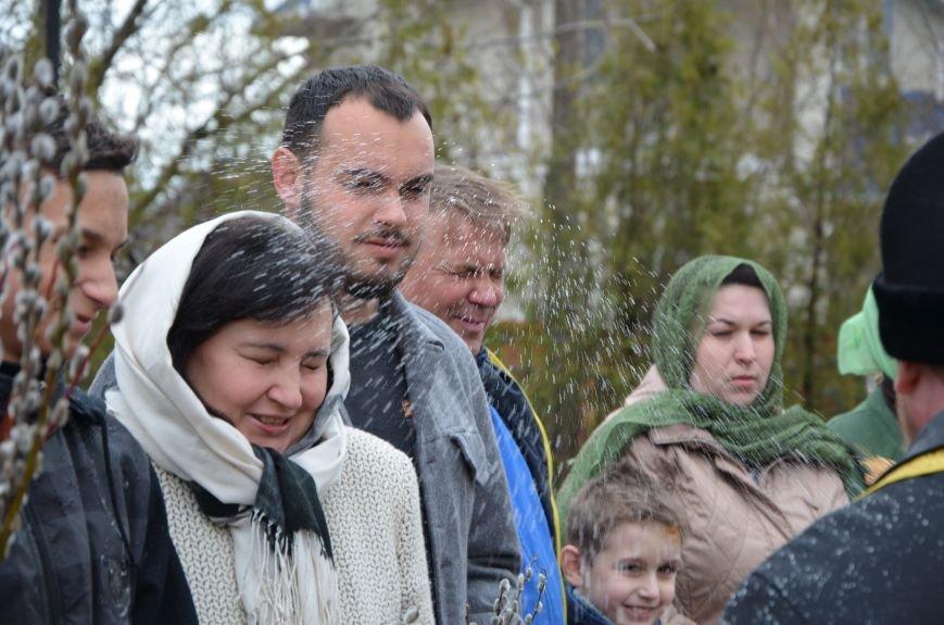 Мариупольцы празднуют Вербное воскресенье (ФОТО+ВИДЕО), фото-10