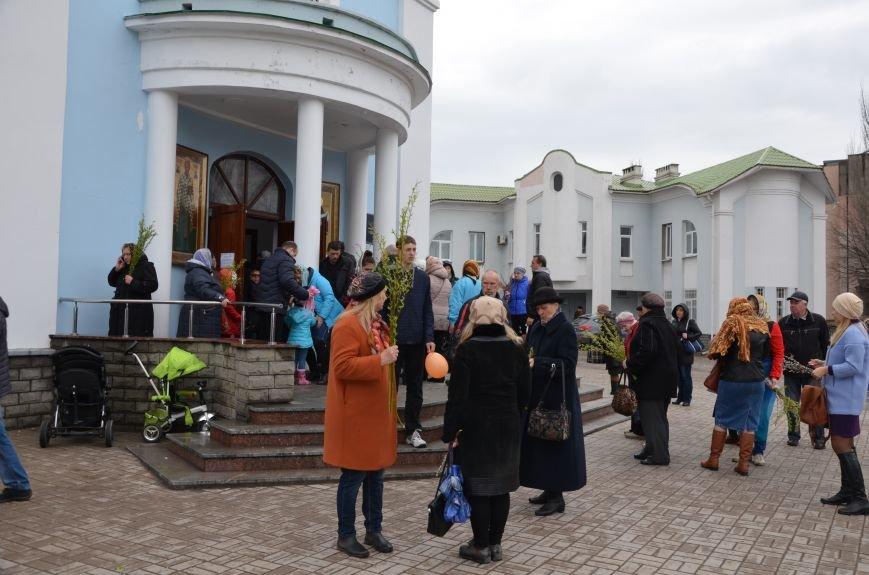 Мариупольцы празднуют Вербное воскресенье (ФОТО+ВИДЕО), фото-22