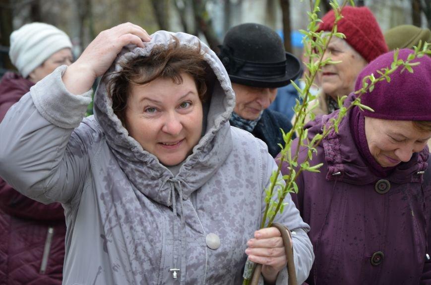 Мариупольцы празднуют Вербное воскресенье (ФОТО+ВИДЕО), фото-21