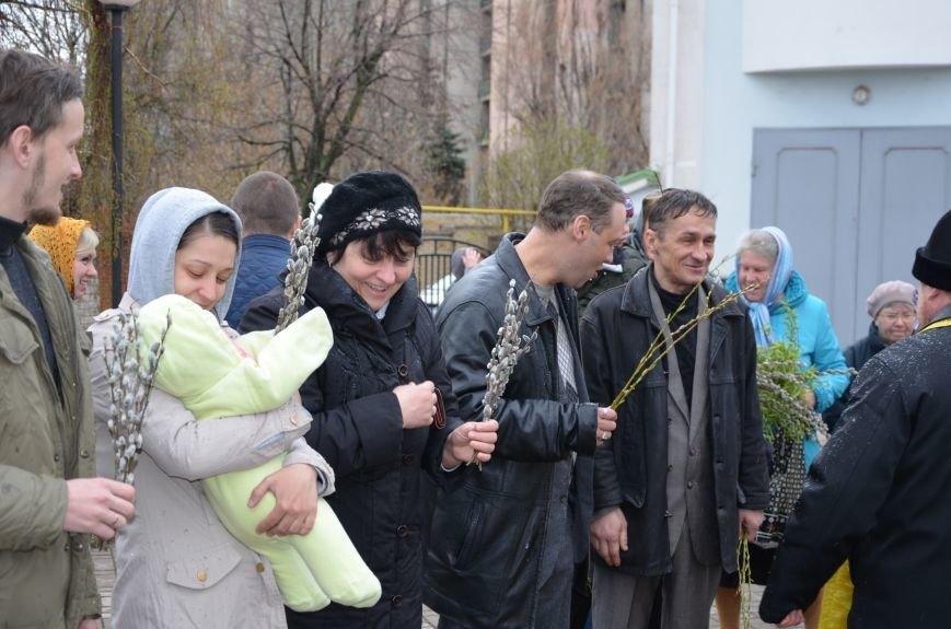 Мариупольцы празднуют Вербное воскресенье (ФОТО+ВИДЕО), фото-18