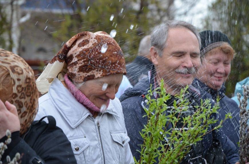 Мариупольцы празднуют Вербное воскресенье (ФОТО+ВИДЕО), фото-13