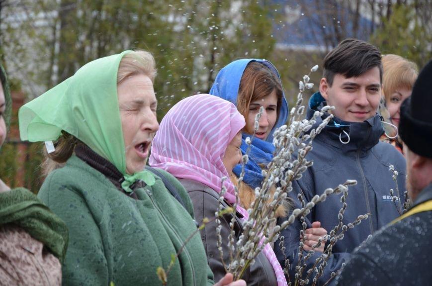 Мариупольцы празднуют Вербное воскресенье (ФОТО+ВИДЕО), фото-12