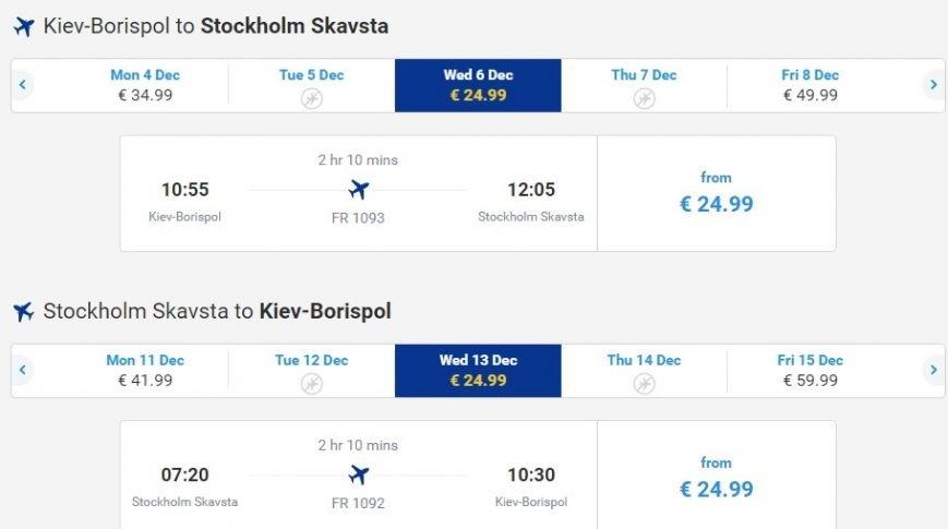Как съездить из Запорожья в Стокгольм без турагентств и сколько это стоит, фото-1