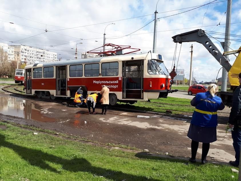 """В Мариуполе новые-старые чешские трамваи не прошли """"испытание кольцом"""" (Фотофакт), фото-2"""