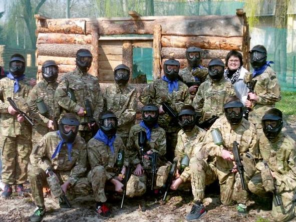 Школьники Бахмута приняли участие в «военных» баталиях, фото-4