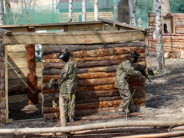 Школьники Бахмута приняли участие в «военных» баталиях, фото-2