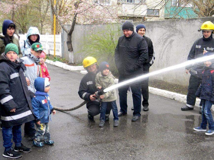 Каховські рятувальники провели екскурсію для дітей (фото), фото-1