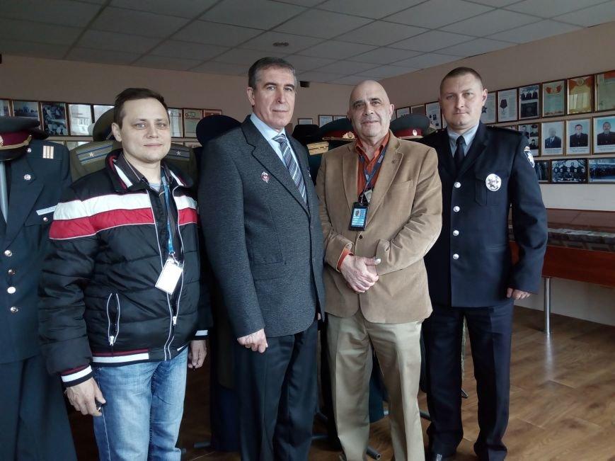 Конотопську поліцію відвідав представник ОБСЄ (ФОТО), фото-1