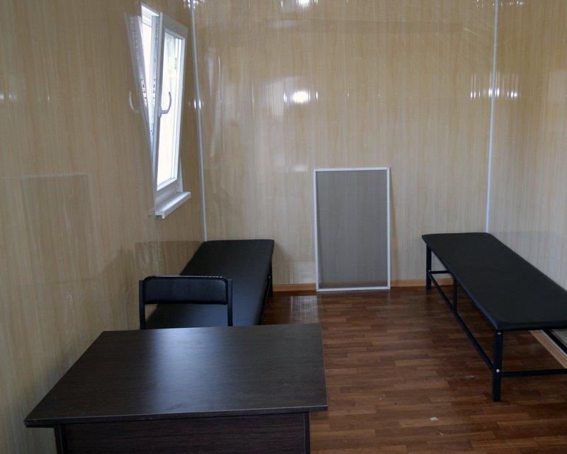 Пункт проверки транспорта в Покровске приведен к стандартам безопасности и удобства, фото-2