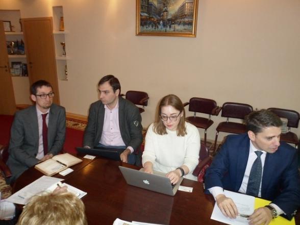 Городской голова Бахмута встретился с представителями международной организации права развития, фото-1