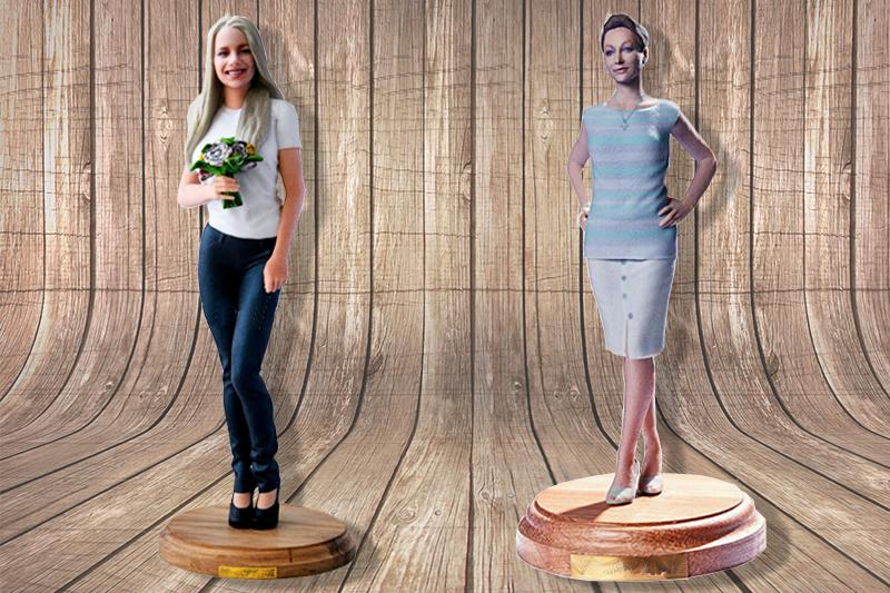 3D-модель по фотографии — оригинальный подарок по любому поводу, фото-1