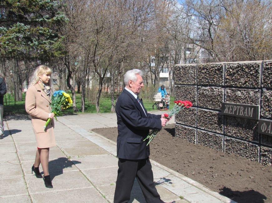 В Мариуполе возложили цветы к памятнику жертвам фашизма (ФОТОРЕПОРТАЖ), фото-8