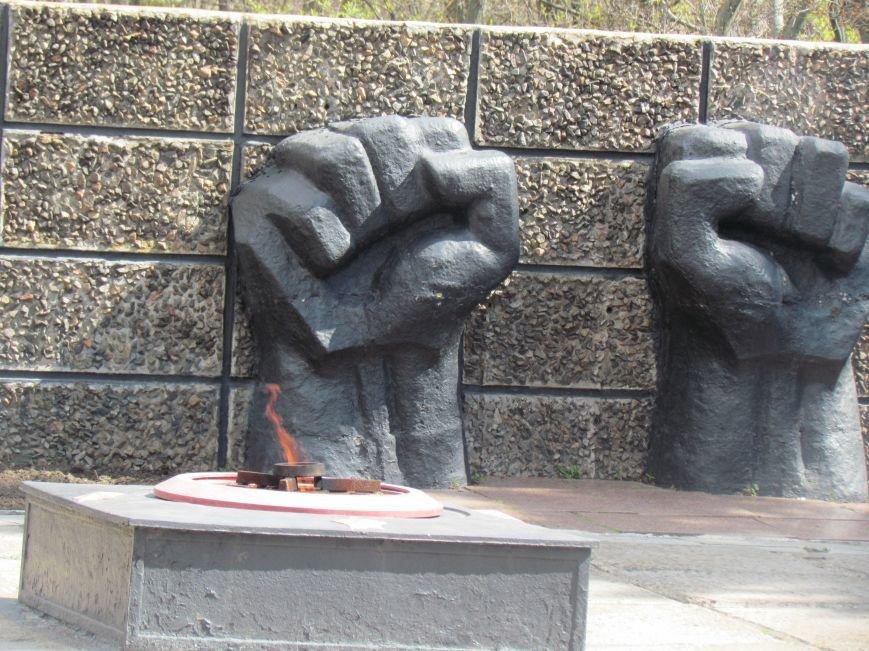 В Мариуполе возложили цветы к памятнику жертвам фашизма (ФОТОРЕПОРТАЖ), фото-12