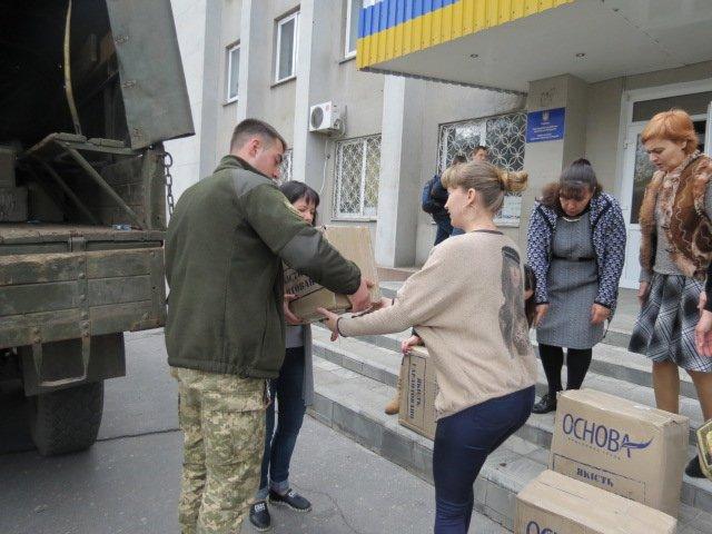 Учреждения образования Покровска и района получили учебную литературу от ВСУ, фото-8
