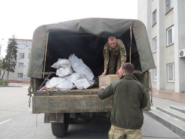 Учреждения образования Покровска и района получили учебную литературу от ВСУ, фото-2