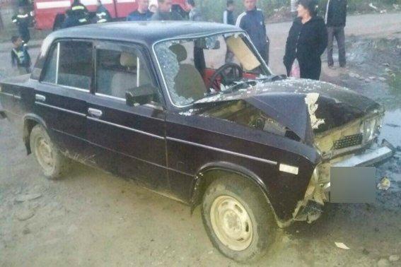 """У Великому Березному п'яний водій на """"Жигулях"""" врізався у газову трубу: фото, фото-1"""