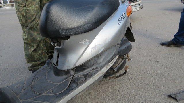 В Покровске произошло ДТП: скутер столкнулся с автомобилем, фото-2