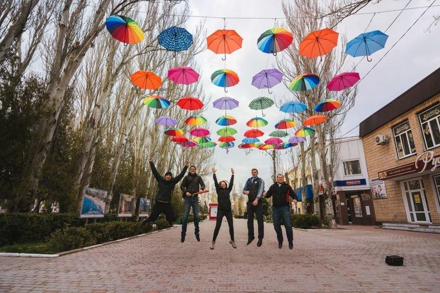 На Херсонщине вновь появилась Аллея из зонтиков (фото), фото-1