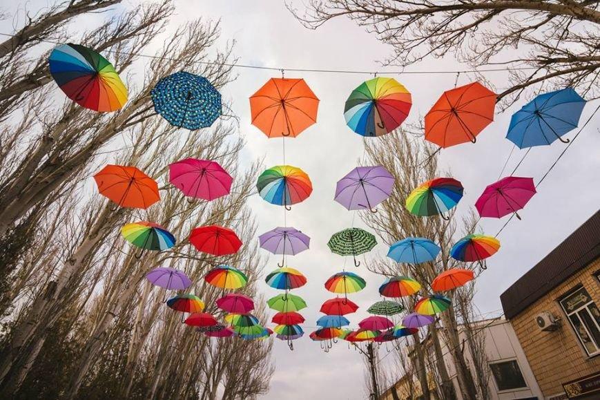 На Херсонщине вновь появилась Аллея из зонтиков (фото), фото-2