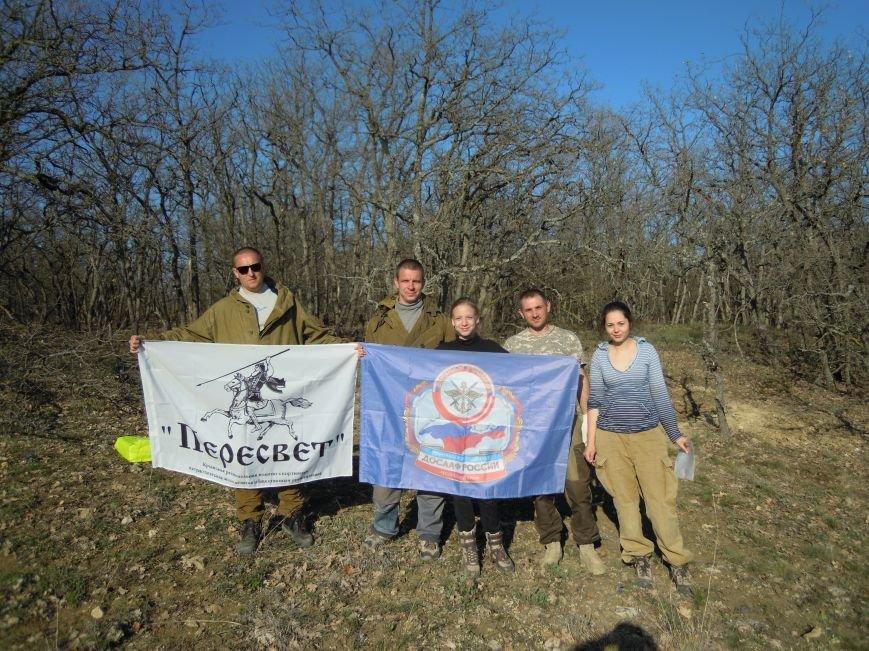 Ялтинцы в ходе поисковой работы обнаружили останки бойца, защищавшего Севастополь, фото-1