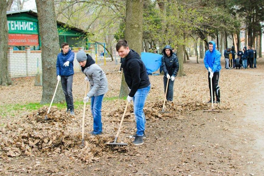 Студенты обеспечили чистоту и порядок в населенных пунктах, фото-7
