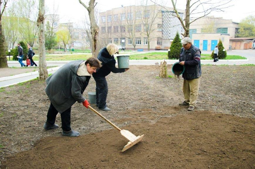 Студенты обеспечили чистоту и порядок в населенных пунктах, фото-1