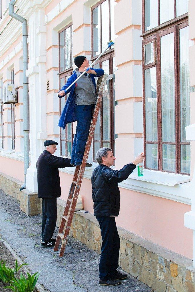 Студенты обеспечили чистоту и порядок в населенных пунктах, фото-6