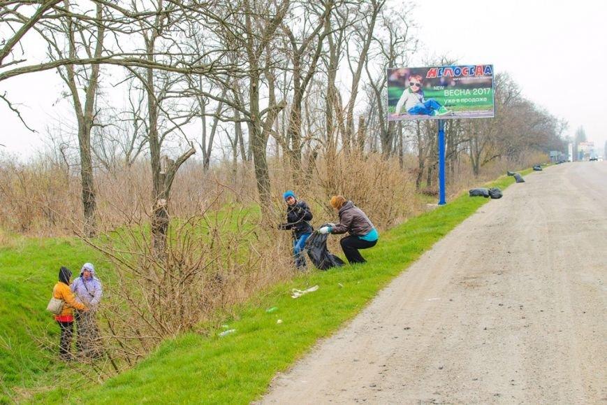 Студенты обеспечили чистоту и порядок в населенных пунктах, фото-3