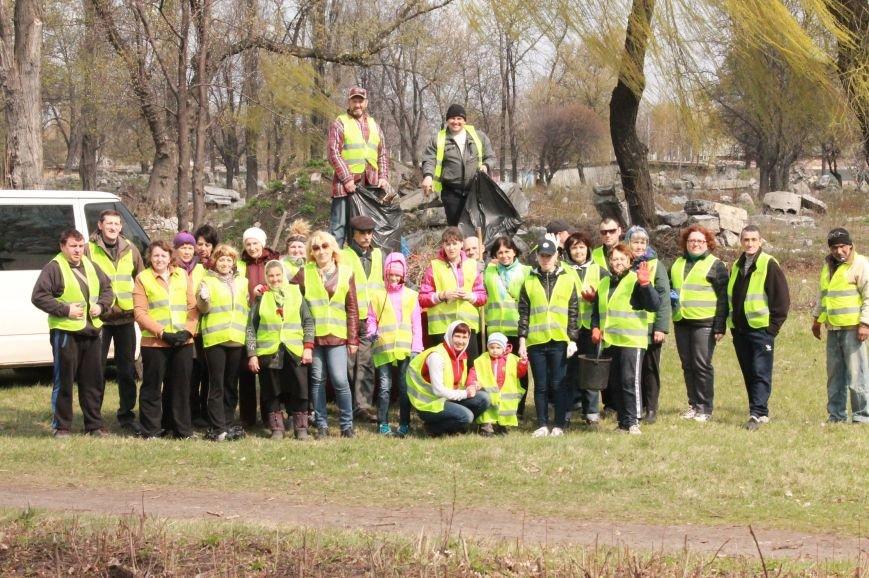 Всеукраїнська акція з благоустрою та прибирання «Чисте серце – чисте місто» відбулася у Покровську, фото-10