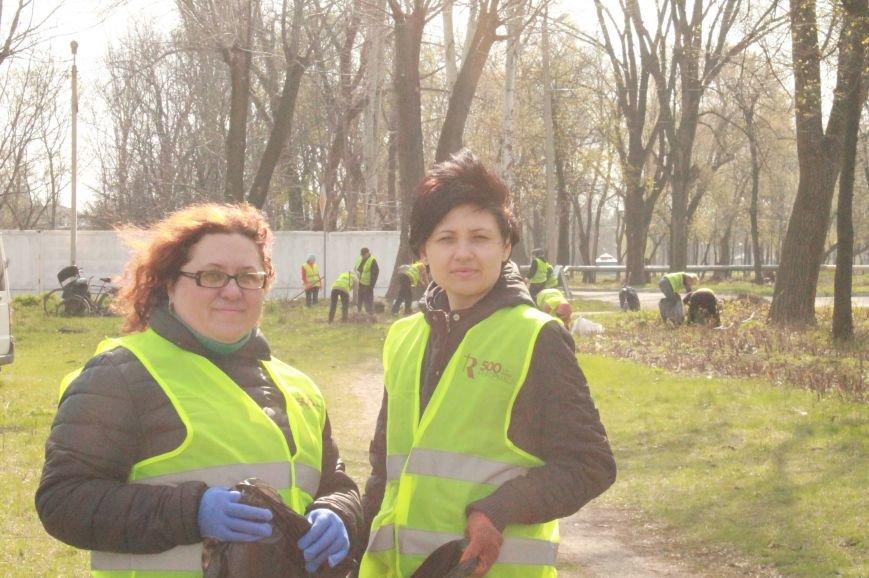Всеукраїнська акція з благоустрою та прибирання «Чисте серце – чисте місто» відбулася у Покровську, фото-2