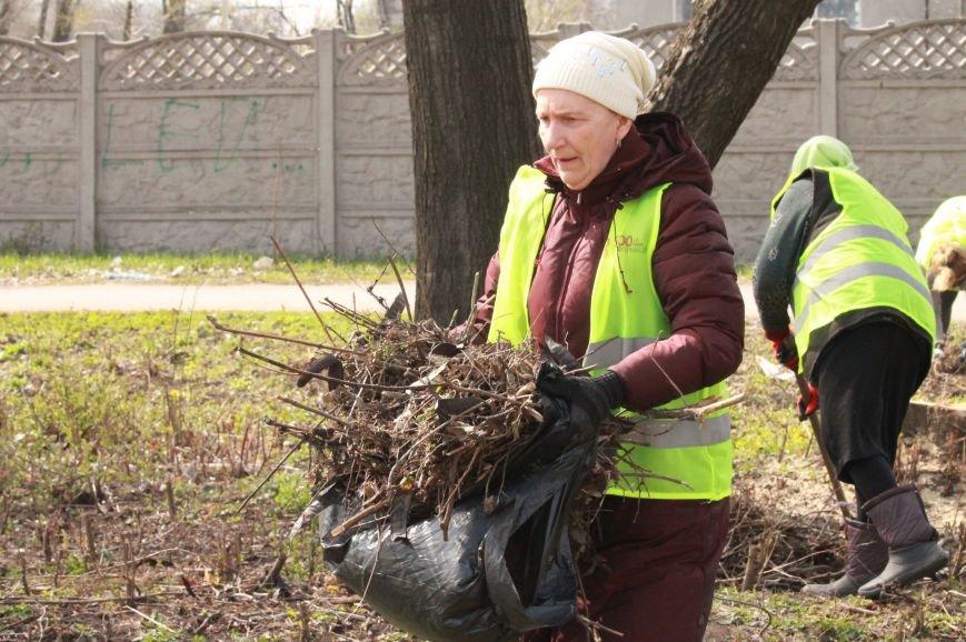 Всеукраїнська акція з благоустрою та прибирання «Чисте серце – чисте місто» відбулася у Покровську, фото-7