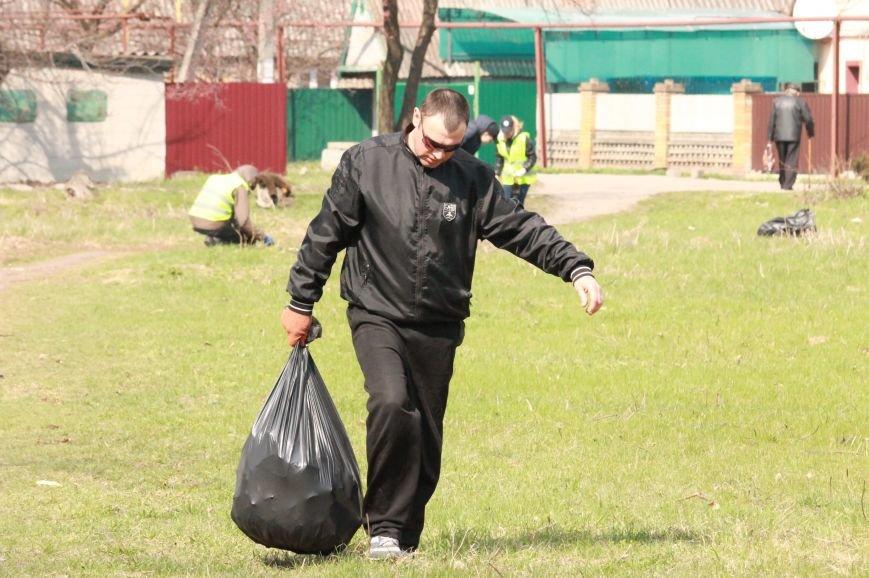 Всеукраїнська акція з благоустрою та прибирання «Чисте серце – чисте місто» відбулася у Покровську, фото-8