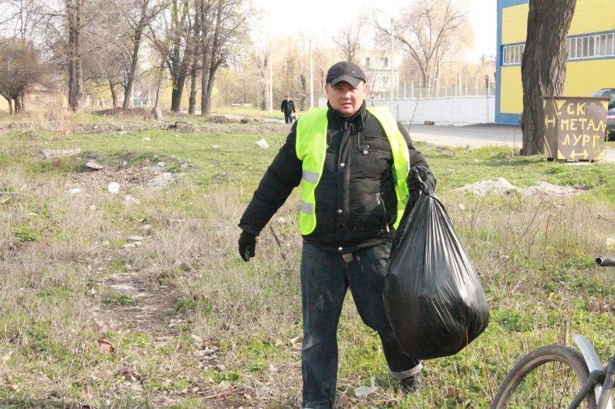 Всеукраїнська акція з благоустрою та прибирання «Чисте серце – чисте місто» відбулася у Покровську, фото-1