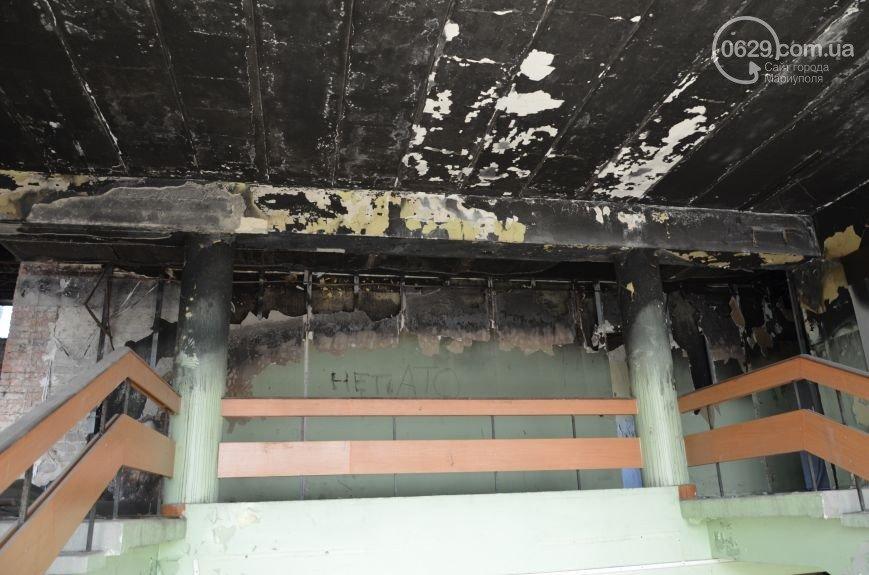 """13 апреля 2014-го: мариупольцы и """"гости города"""" захватили здание городской администрации (ФОТО), фото-14"""