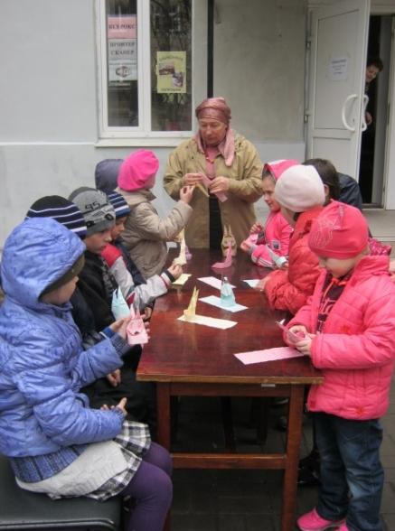 Пасхальные узоры в детской библиотеке Бахмута, фото-2