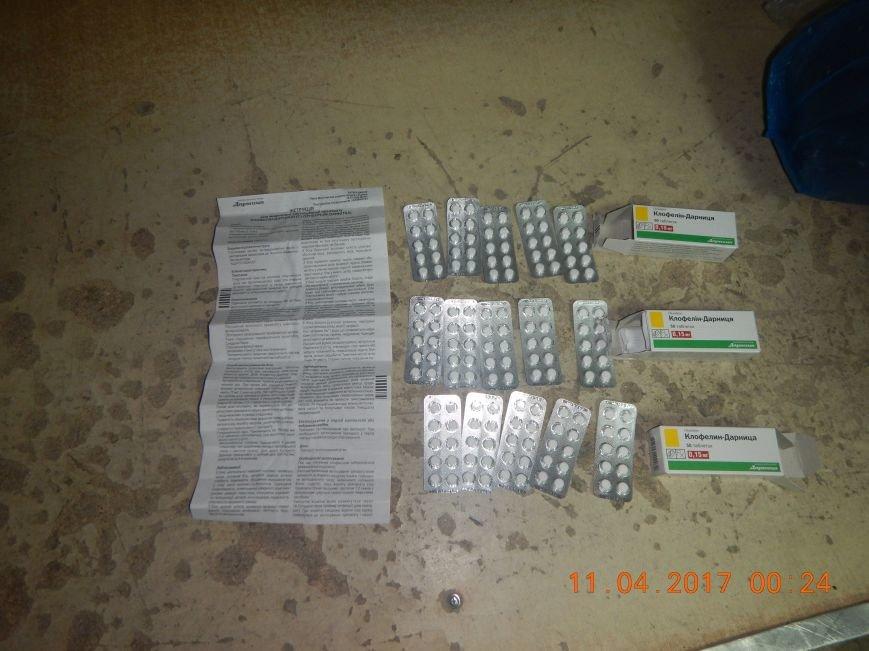 Украинец пытался провезти в Крым 150 таблеток клофелина (ФОТО), фото-2