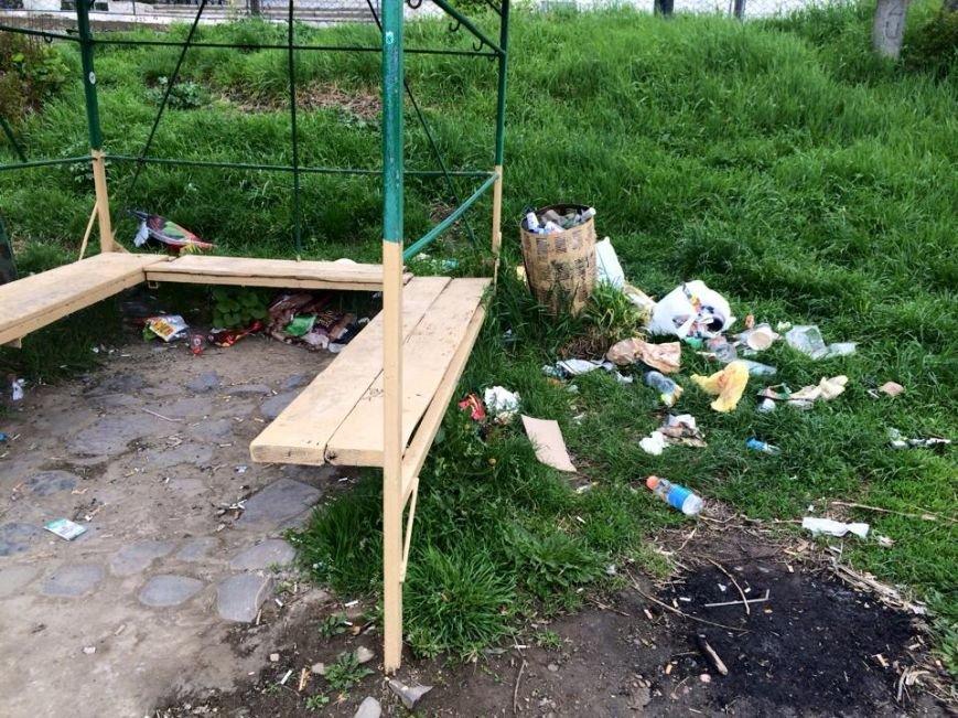 На березі Ужа у центрі Ужгорода - стихійне сміттєзвалище: фото, фото-4