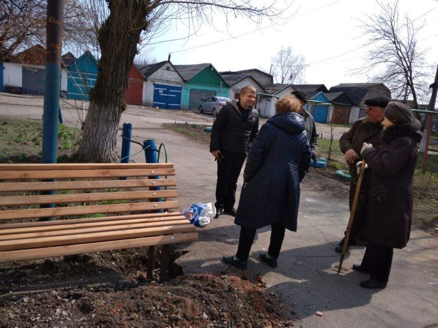 Во дворах ОСМД города Родинское устанавливают детские площадки, фото-1