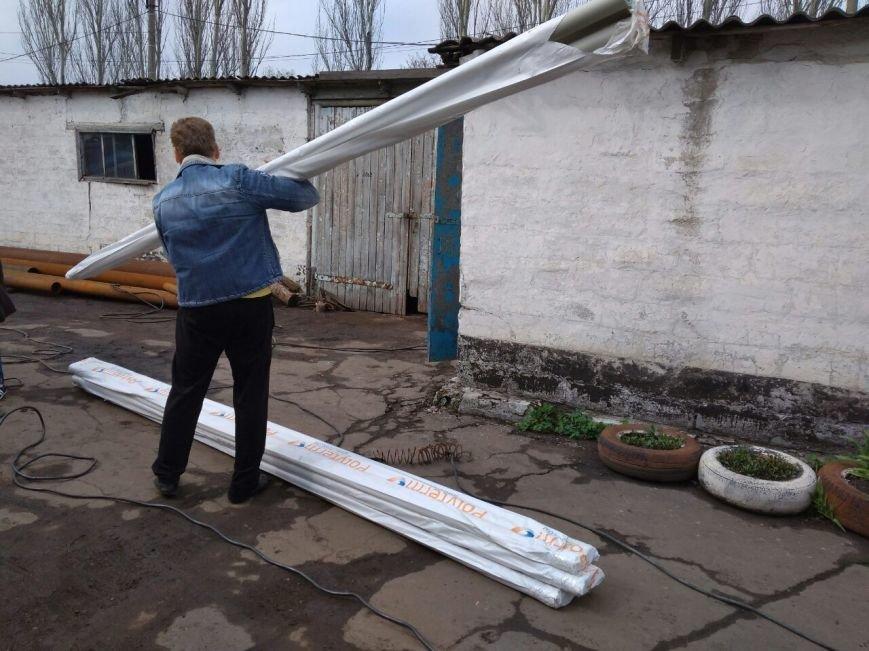 Во дворах ОСМД города Родинское устанавливают детские площадки, фото-3