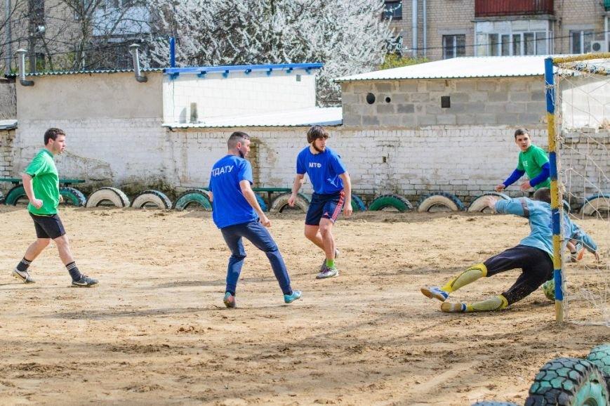 Студенты ТГАТУ соревновались за кубок ректора по мини-футболу, фото-4