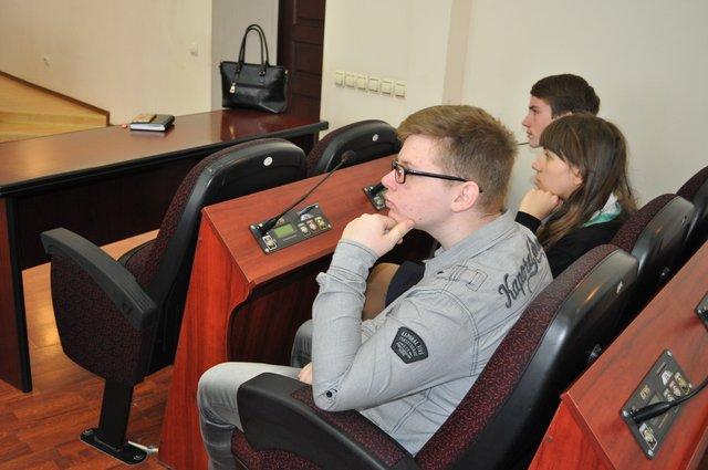 Краматорские школьники попробовали себя в роли депутатов, фото-2