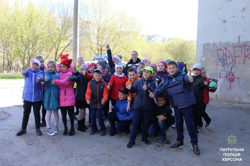 Патрульні завітали до херсонської школи (фото), фото-2