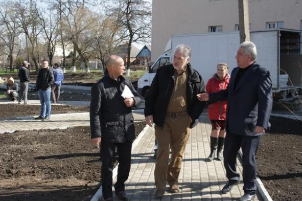 Павел Жебривский в рамках выездного рабочего совещания посетил Бахмут, фото-8